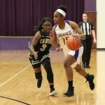 Girls Varsity Basketball beats Camden 67 – 35