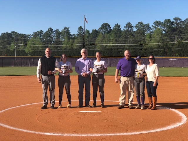 Senior Night for Girls Softball