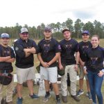Emerald Clay Team competes in the SCTP Trap Qualifier at Palmetto Shooting Complex in Edgefield, SC