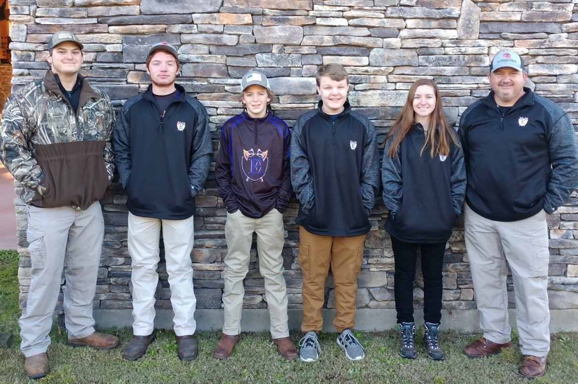 Emerald Clay Team athletes competes in the SCTP TRAP STATE CHAMPIONSHIP event at Palmetto Shooting Complex in Edgefield, SC