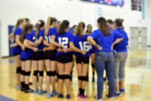 VolleyBall vs GBurg JV and Varsity