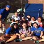 Lady Warriors Tennis clinch MCPS Division II