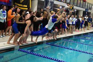 Metro Finals Girls Swim