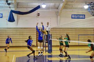 Girls Varsity Volleyball vs WJ