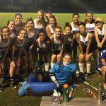 Sherwood High School Girls Varsity Field Hockey beat Gaithersburg Sr High School 4-0