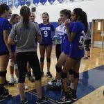 Girls JV Volleyball vs Magruder
