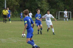 Boy JV Soccer vs Blake