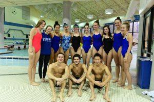 Swimming vs Magruder