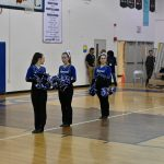 POMs at Poolesville Game