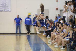 Varsity Cheer at Magruder Game