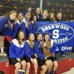 Girls Swim Team wins 2nd Consecutive State Title!