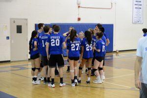 Coed Volleyball vs Clarksburg