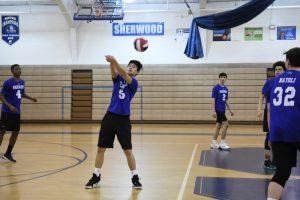 Varsity Boys Volleyball vs Magruder