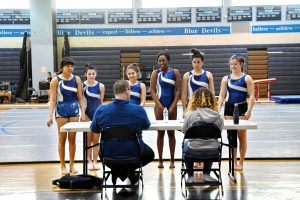 Varsity Gymnastics at Springbrook