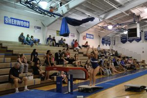 Girls Varsity Gymnastics vs Whitman – Blair