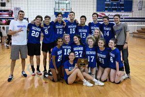 Varsity Coed Volleyball MCPS Champions