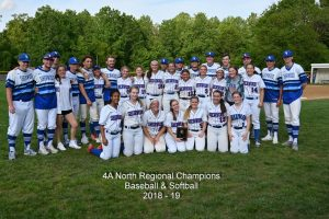 4A North Regional Softball Champions 2018-19