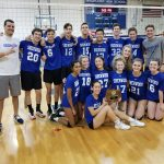 Coed Volleyball wins the 2019 County Championship!