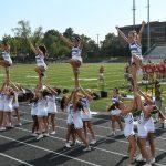 Varsity Cheer Wheaton FBall Game
