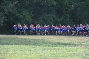 Varsity Boys Cross Country vs Whitman