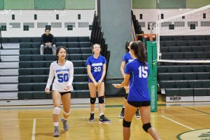Girls JV Volleyball vs WJ