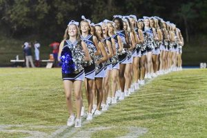Poms at Northwood Game