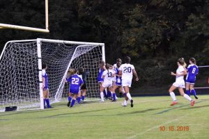 Sherwood Varsity Girls Soccer vs BCC