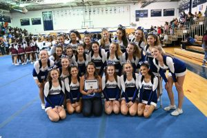 JV Cheerleading Exhibition at Magruder