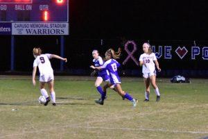 Varsity Girls Soccer vs QO