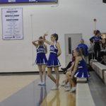 Cheer at Girls BBall vs GBurg