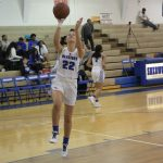 Varsity Girls Basketball Warm Up Photos