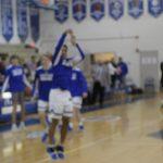 Varsity Boys Basketball Warm up Whitman