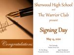 Zoom Senior Signing Day