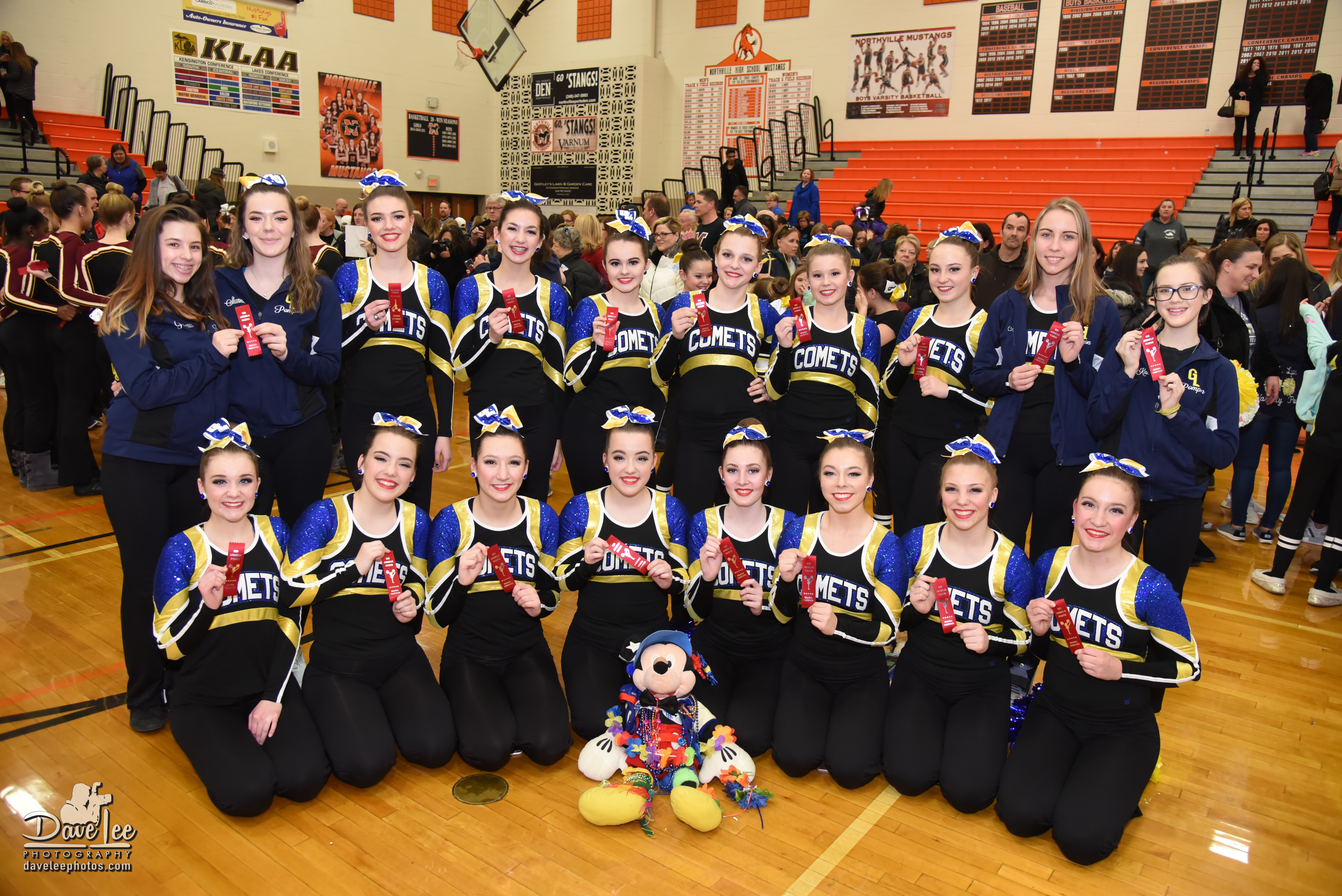 Grand Ledge Pompon Qualifies for State Meet