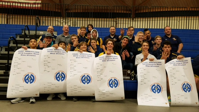 Comet Wrestlers Capture 4th Straight CAAC Blue Championship!