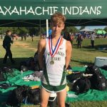 Waxahachie High School Boys Varsity Cross Country finishes 9th place
