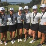 Waxahachie High School Girls Varsity Golf finishes 2nd place