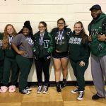 Waxahachie High School Girls Varsity Powerlifting finishes 5th place