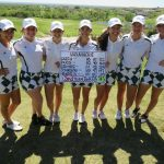 Waxahachie High School Girls Varsity Golf Spring finishes 3rd place