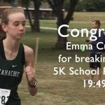 Emma Curry Breaks School Record