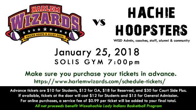 Hoopsters vs Wizards
