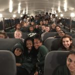 Lady NDN Track Competes @ Midway; Records Broken