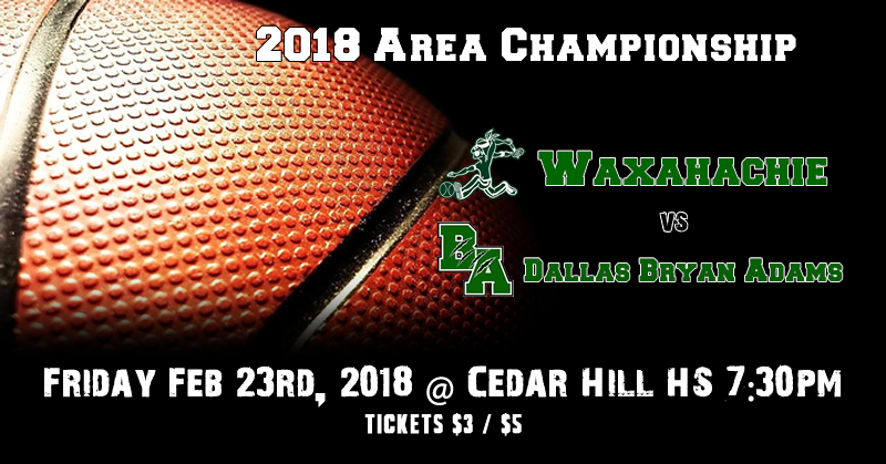 Waxahachie Runnin' Indians vs Dallas Bryan Adams