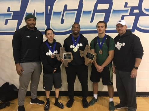 Iron Indians Medal 3 @ Regionals; High 3rd in State