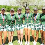 Lady NDNS Finish 3rd in District; Two Make All District
