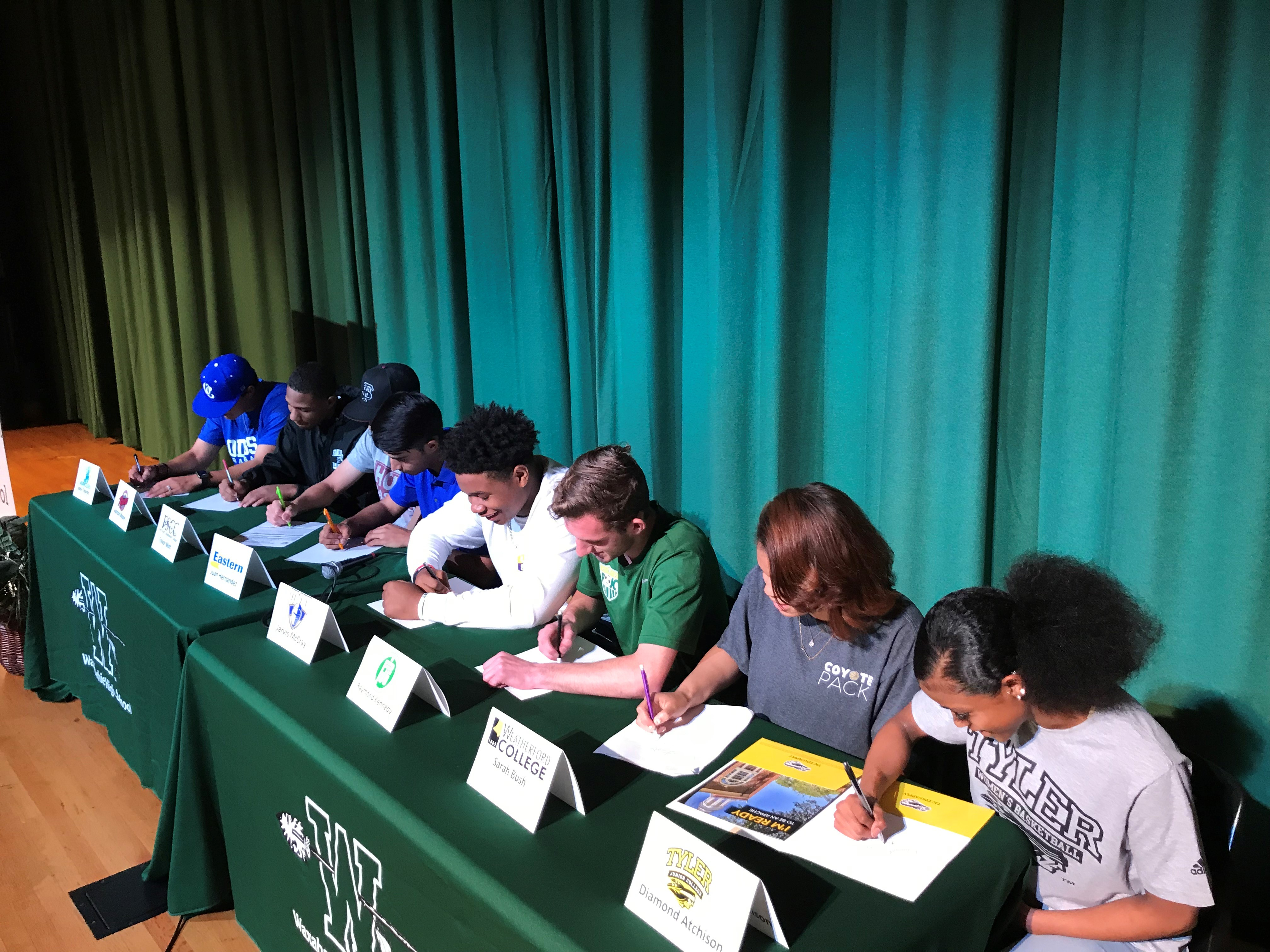 College Signing Day Spring 2018