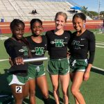 Lady NDNS Track Place 4th @ Area; Advance 8 to Regionals