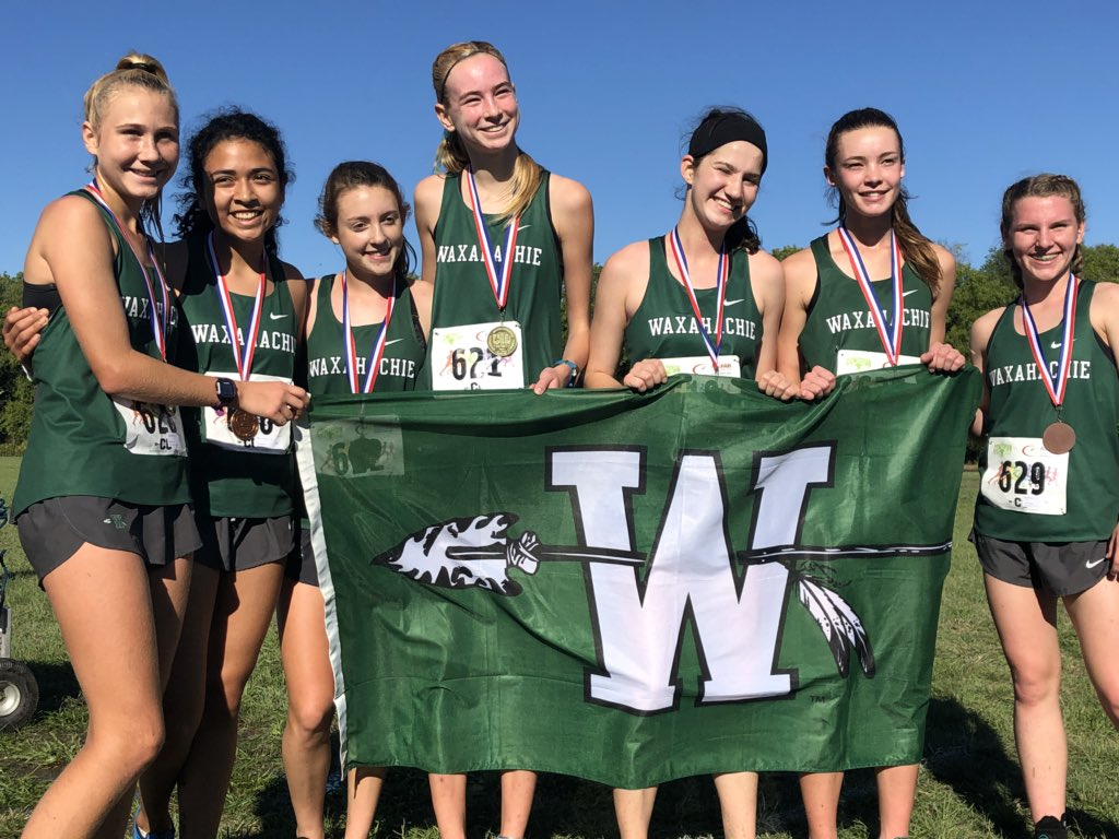 Lady NDN XC Win District 7-6A Championship