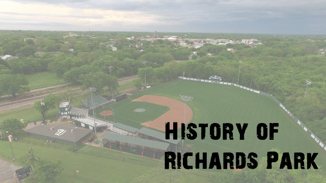 History of Richards Park and Waxahachie Baseball