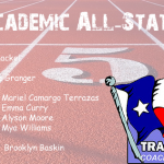 Girls Track Academic All State